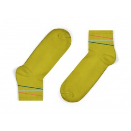 organic cotton kids socks in mustard