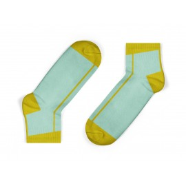 mustard stripe kids socks
