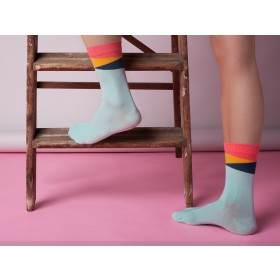 MINT GEOM ANKLE SOCKS